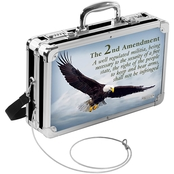 2nd Amendment Eagle Locking Handgun Case