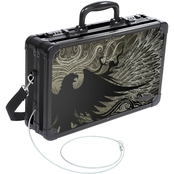 Black War Eagle Locking Handgun Case