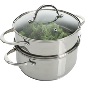 Weight Watchers 3 qt. Dutch Oven with Steamer