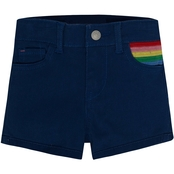 Levi's Girls Embroidered Shorty Shorts