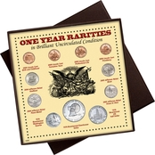 American Coin Treasures One Year Rarities Coin Box
