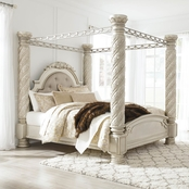 Signature Design by Ashley Cassimore King Canopy Bed