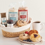 Harry and David Wolfermans English Muffin Sampler Basket 39.08 Oz.