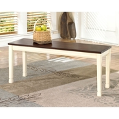Signature Design by Ashley Whitesburg Large Dining Room Bench
