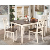 Signature Design by Ashley Whitesburg Table with 4 Chairs