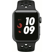 Apple Watch Nike+ Series 3 GPS Aluminum Case with Anthracite Sport Band
