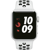Apple Watch Nike+ Series 3 GPS + Cellular Aluminum Case with Platinum Sport Band