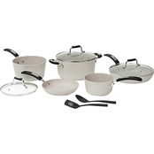 Starfrit The ROCK 10 Pc. Cookware Set with Bakelite Handles