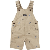 OshKosh B'gosh Infant Boys Anchor Whale Core Shortalls
