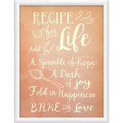 Recipe for Life Wall Art