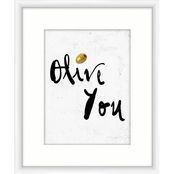 Olive You Wall Art