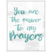 To My Prayers Wall Art
