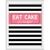 Eat Cake for Breakfast II Wall Art
