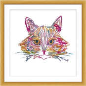 Colorful Cat Wall Art