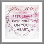 Pets Leave Paw Prints Wall Art