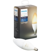 Philips Hue White Ambiance E12 Decorative Candle Dimmable Bulb
