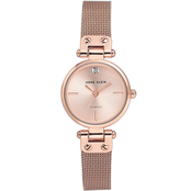 Anne Klein Women's Diamond Accented Bracelet Watch AK3002RGRG