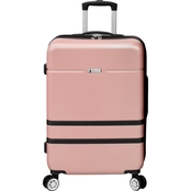 London Fog Weybridge Expandable Hardside Spinner Suitcase