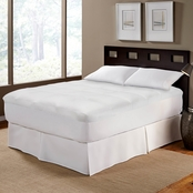 Wellrest NeverWet Pinstripe Mattress Pad
