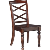 Signature Design by Ashley Porter Dining Room Side Chair 2 Pk.