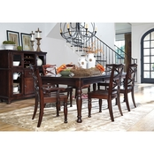 Signature Design by Ashley Porter 7 Pc. Rectangular Dining Set