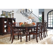 Signature Design by Ashley Porter 9 Pc. Rectangular Dining Set