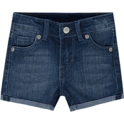 Levi's Little Girls Scarlett Shorty Shorts