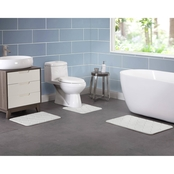VCNY Memory Foam 3 pc. Contour Bath Rug Set