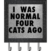 PTM Images I Was Normal 4 Cats Ago Frame Art
