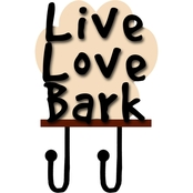 PTM Images Live Love Bark Decorative Wall Art