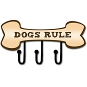 PTM Images Dogs Rule Decorative Wall Art 14 x 7.25
