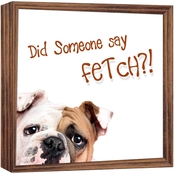 PTM Images Did Someone Say Fetch?! Magnet Board