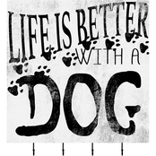 PTM Images Life Is Better With A Dog Corkboard
