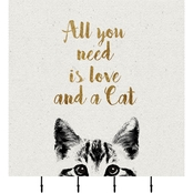 PTM Images All You Need Is Love And A Cat Corkboard