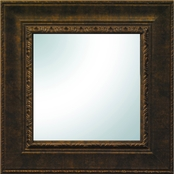 PTM Images Bronze Ornate Square Mirror 19 x 19