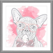PTM Images Pink Dog Decorative Wall Art
