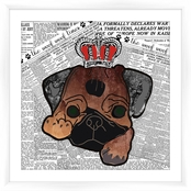 PTM Images Vote for Dog Decorative Wall Art