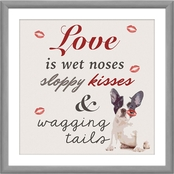 PTM Images Love is Wet Noses Decorative Wall Art
