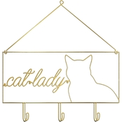 PTM Images Cat Lady Decorative Wall Art
