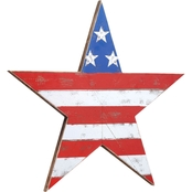 DEMDACO Americana Shaped Star Wall Art