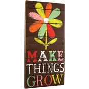 DEMDACO Make Things Grow Wall Art