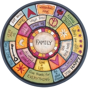 DEMDACO Family Tree Lazy Susan