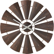 Big Sky Carvers Windmill Clock