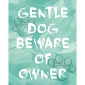 PTM Images Gentle Dog Decorative Canvas Print Wall Art