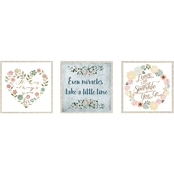 PTM Images 3 Pc. Love Decorative Framed Art Set