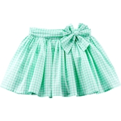 Carter's Little Girls Gingham Skirt