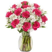 Designers Choice Rose and Alstromeria Floral Bouquet