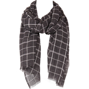 Imperial Grid Woven Oblong Scarf