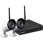 Swann 1080p Wi-Fi Security Kit With 2 Cameras