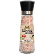 Himalayan Chef Pink Salt in Refillable Tall Glass Grinder